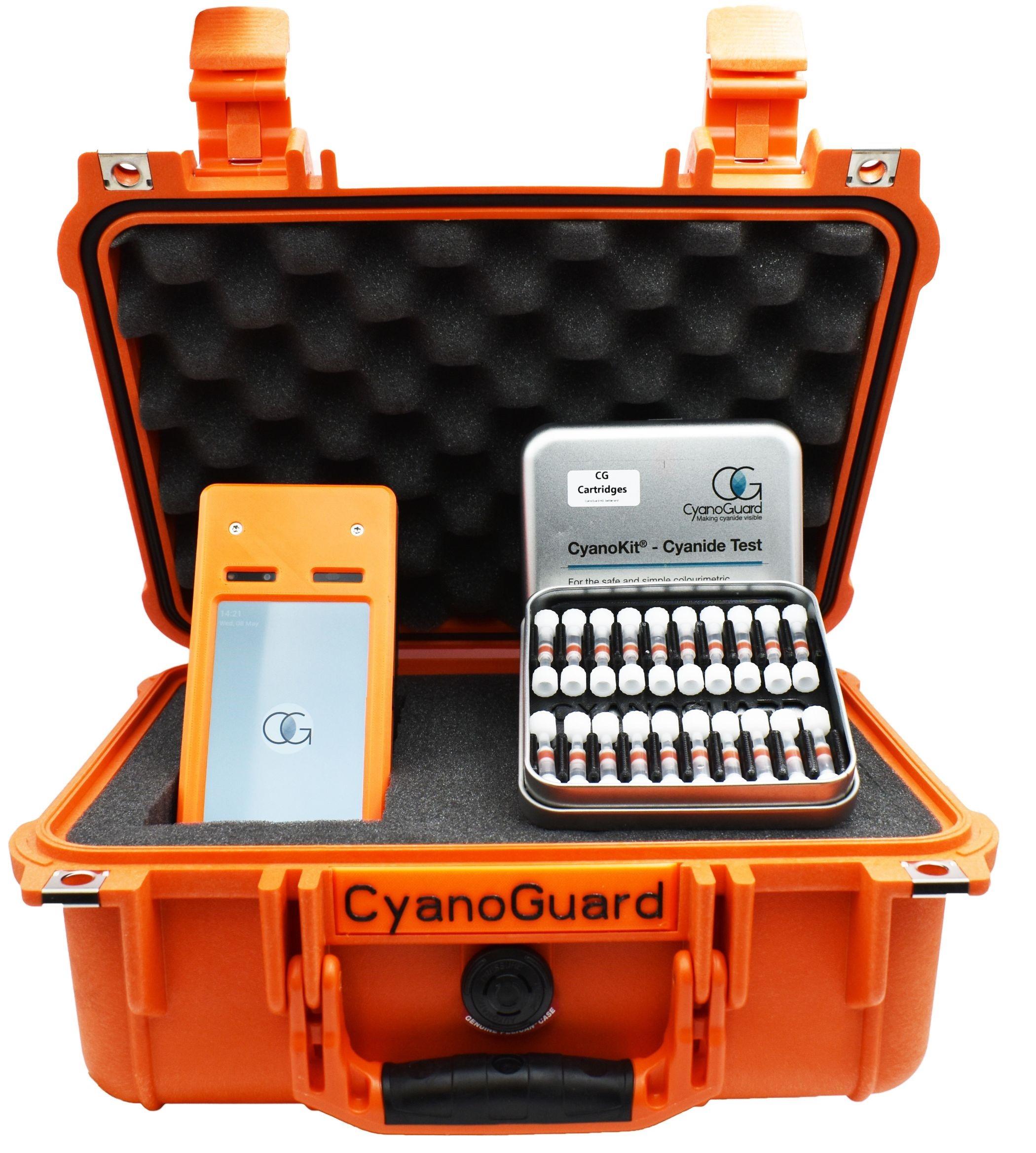 CyanoGuard cyanide monitoring kit.