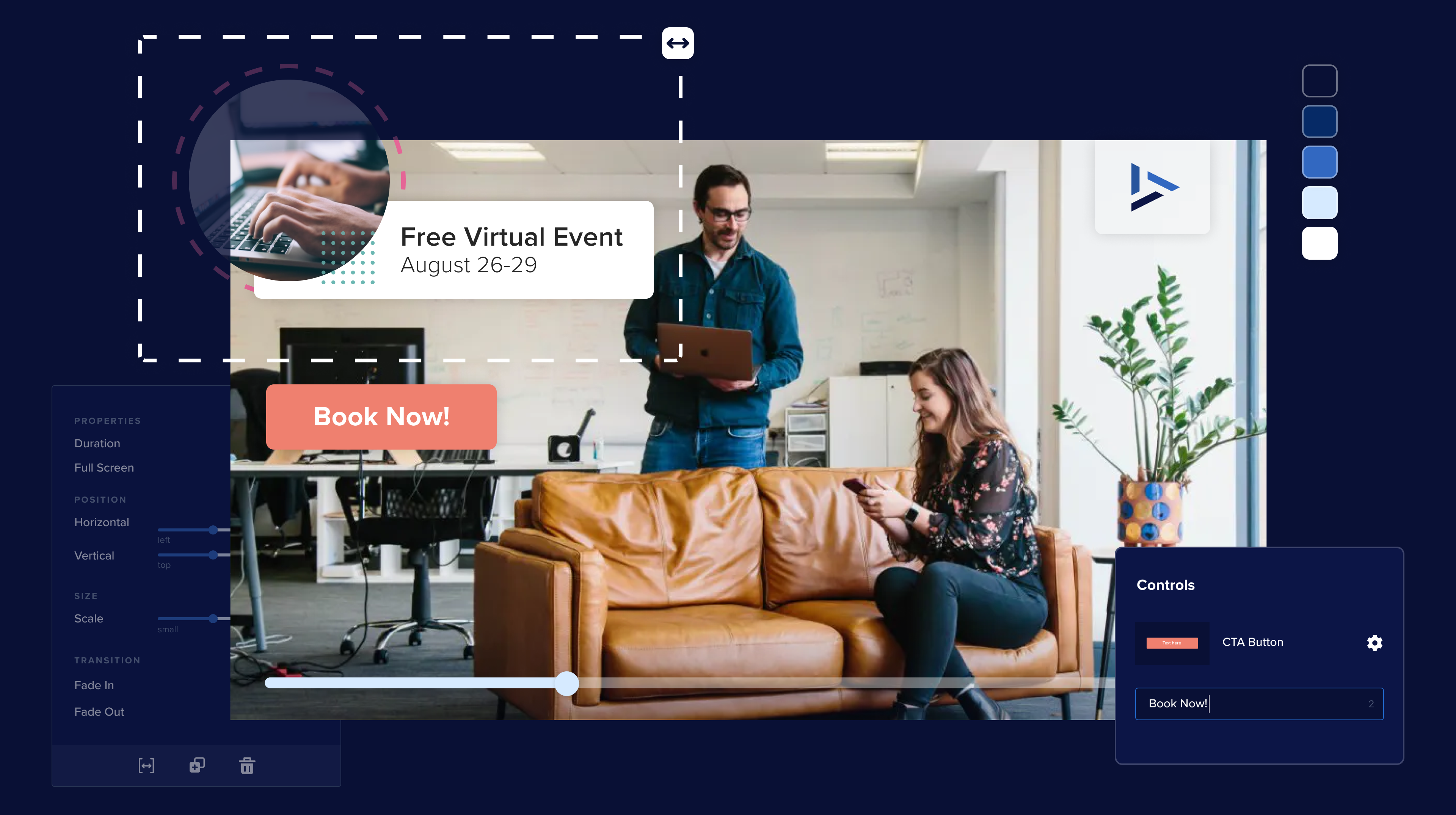 Discover exciting new video branding capabilities with VML!