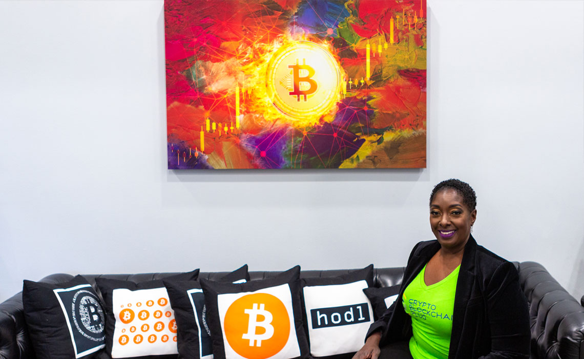 Black Economics & the Digital Frontier Series: Najah Roberts Founder, Crypto Blockchain Plug