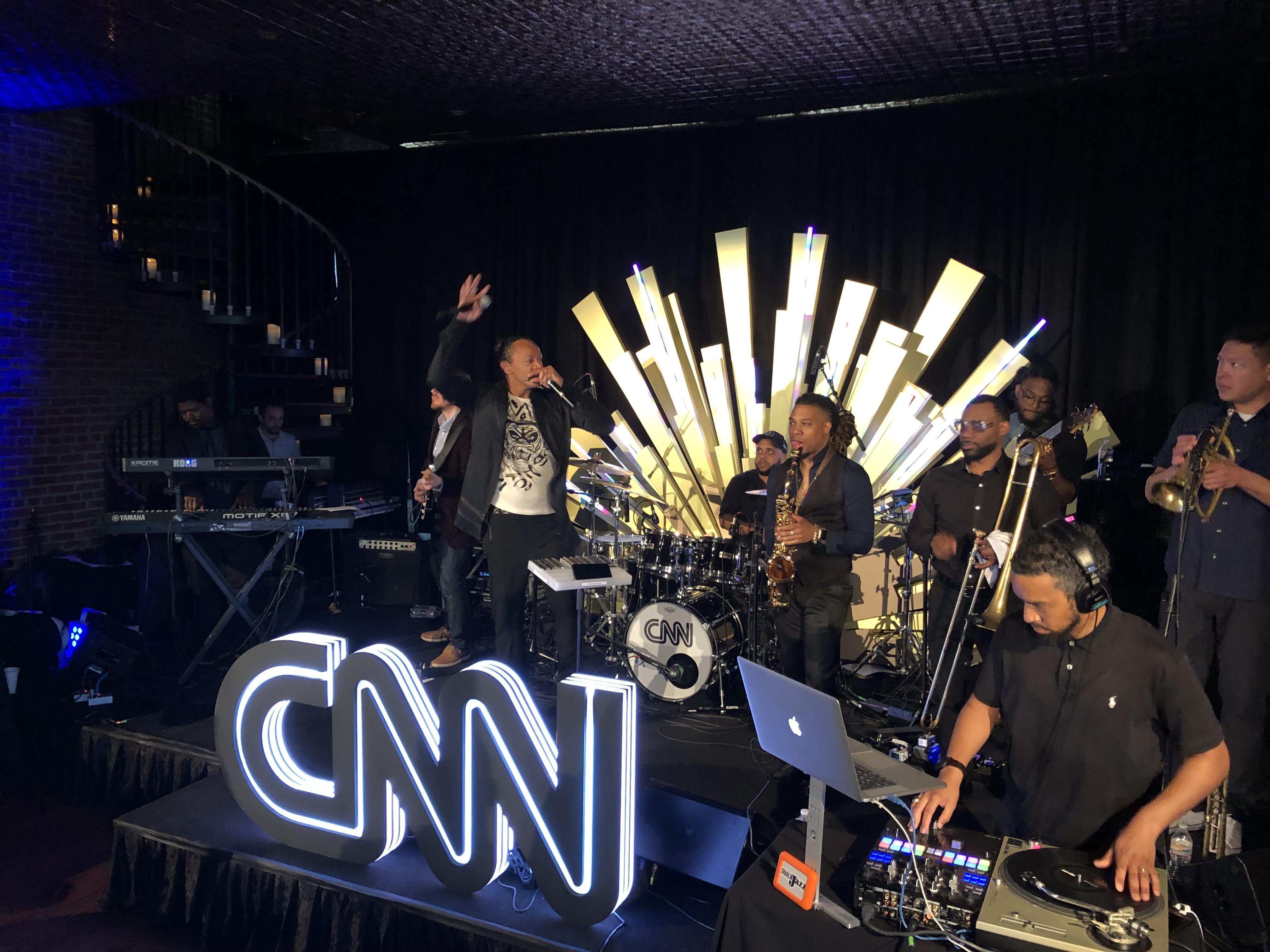 Event Producer & Stage Manager @ CNN Political Hangover Brunch