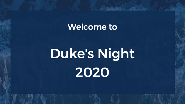 2020 Duke's Night Online