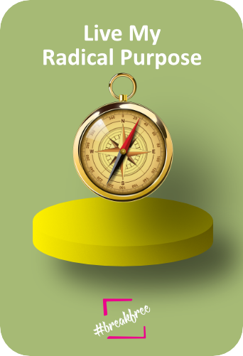 Live My Radical Purpose - Declaration of Interdependence graphic