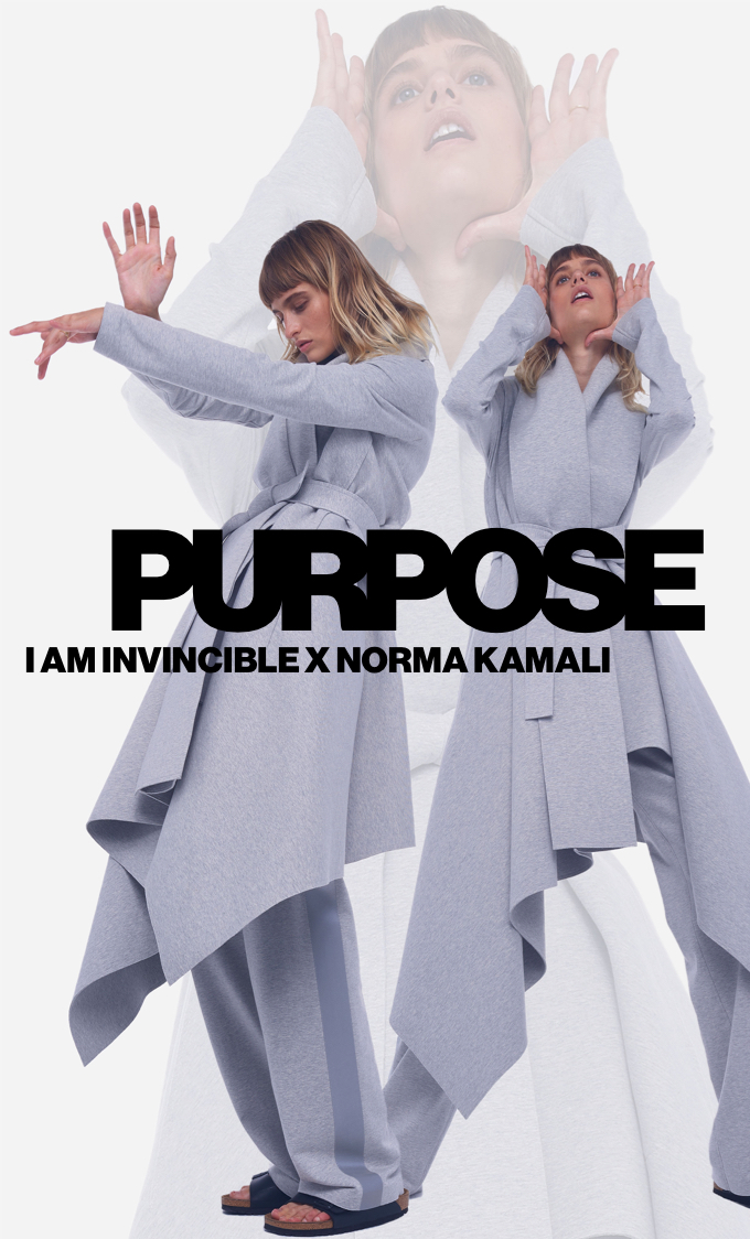 I Am Invincible X Norma Kamali