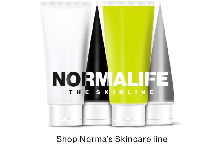 Shop Norma's Skincare line