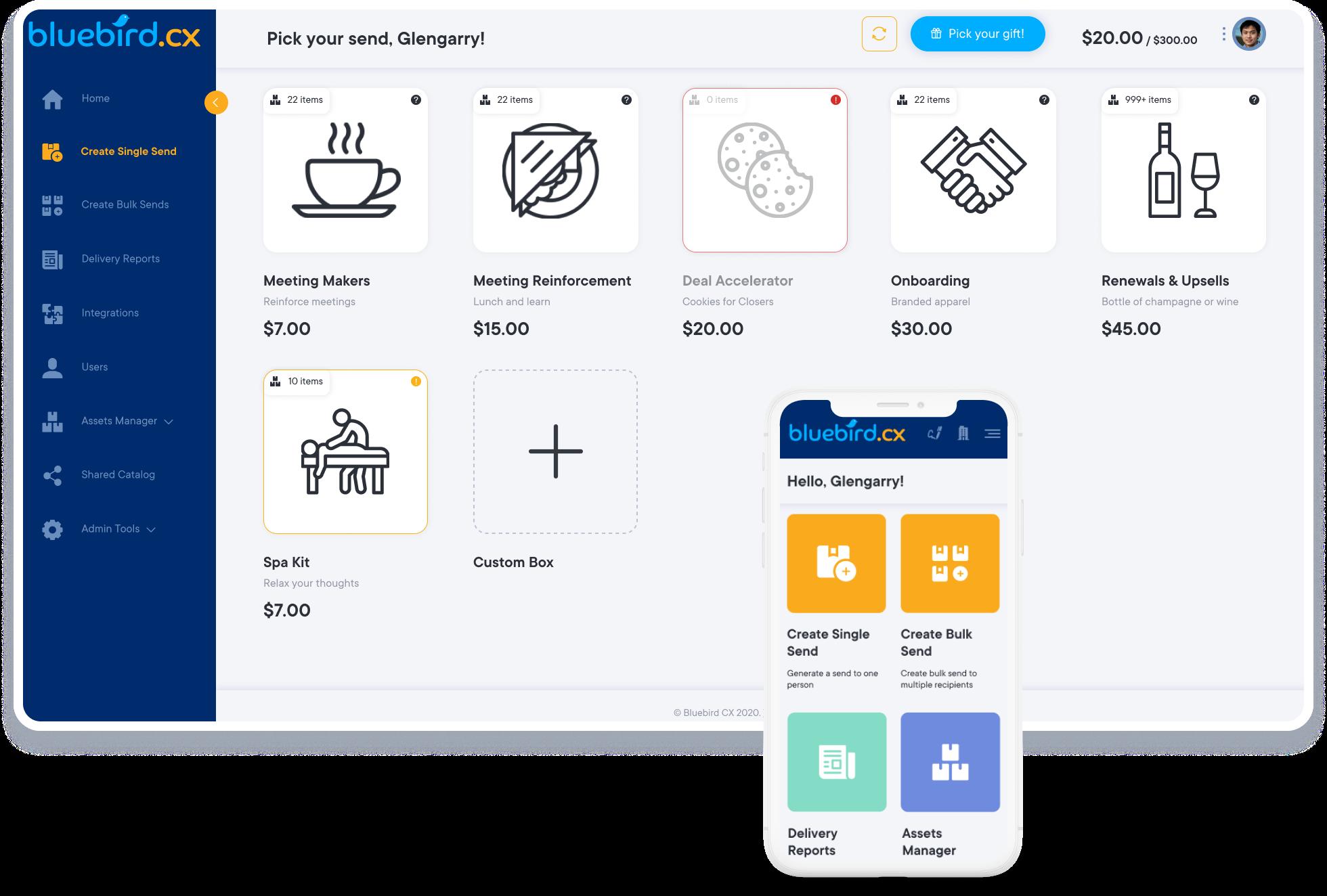 corporate gifting platform