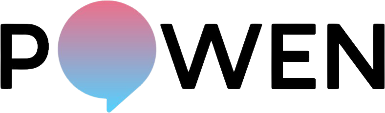 Logo of an energy company called Powen