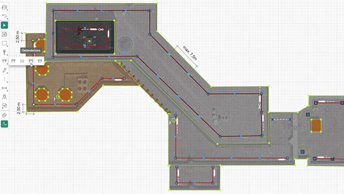 Screenshot der automatische Planungsfunktion von Lock Book Draw