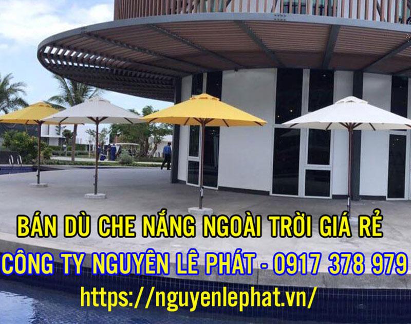 Bán Ô Dù Che Nắng Mưa Quán Cafe Bán Hàng Ngoài Trời tại Tây Ninh Phước Long Giá Rẻ
