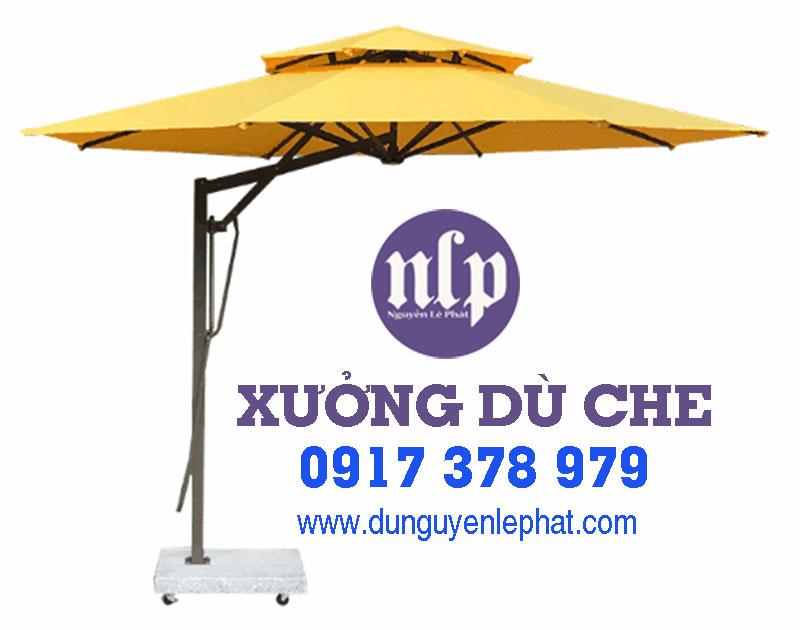 Bán Loại Dù Che Quán Cafe Quận 7 Thủ Đức, Dù Che Mưa Nắng Ngoài Trời Lệch Tâm tại Quận 7 Thủ Đức