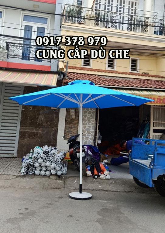 Địa Chỉ Bán Dù Đứng Tâm Che Nắng Quán Cafe tại Bình Dương - Dù Che Ngoài Trời Bán Hàng