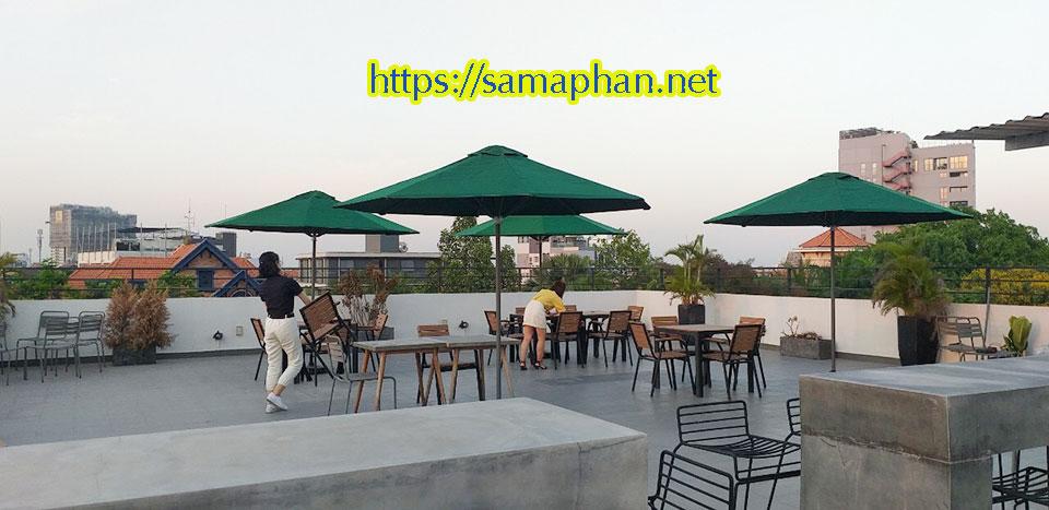 Dù Che Mưa Đứng Tâm Quán Cafe, Dù Che Nắng Ngoài Trời Quán Cà Phê Quận 11 Huyện Hóc Môn