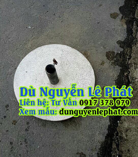 Đế Mẫu Dù đứng tâm tròn che quán cafe giá rẻ đẹp , mẫu mới bền tốt - Dù Nguyễn Lê Phát