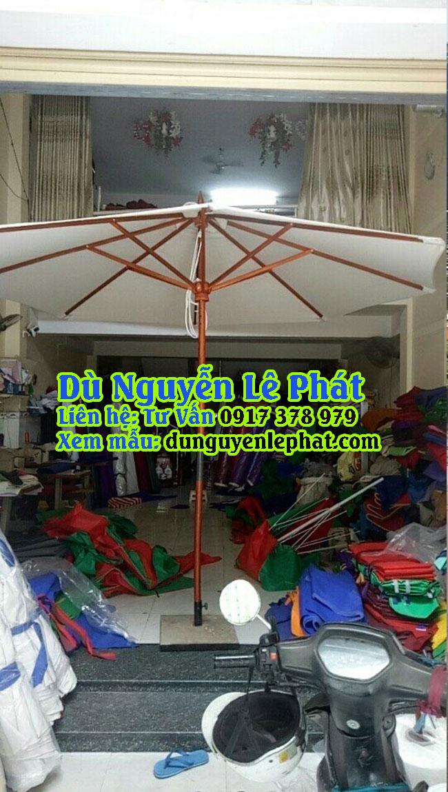 Dù Đứng Tâm tròn 2 tầng giá rẻ đẹp che nắng mưa quán cafe sang trọng đẹp - Dù Nguyễn Lê Phát