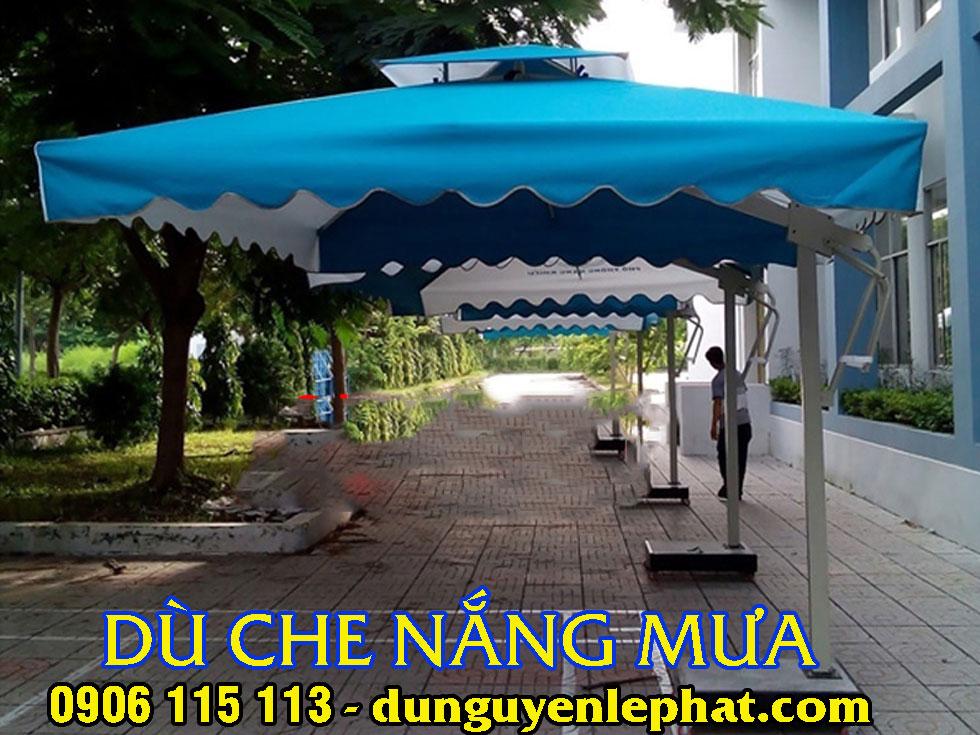 Ô Dù Che Nắng Quán Cafe tại Hà Nội, Dù Che Nắng Mưa Sân Vườn Trường Ở Hà Nội