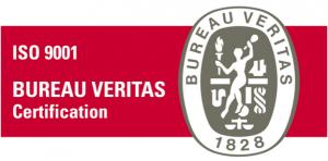 ISO 9001 Bureau Veritas Certificaat logo