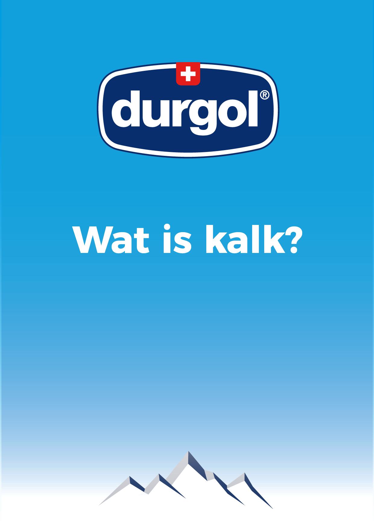 De durgol flyer: Wat is kalk?