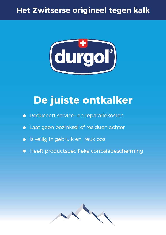 De durgol brochure: De juiste ontkalker