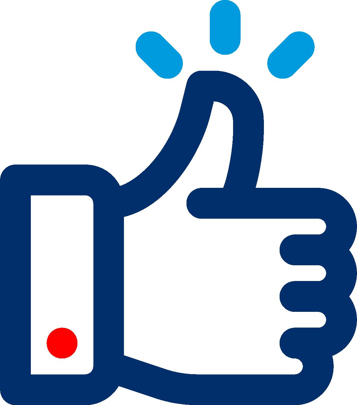 Thumbs-up icoon