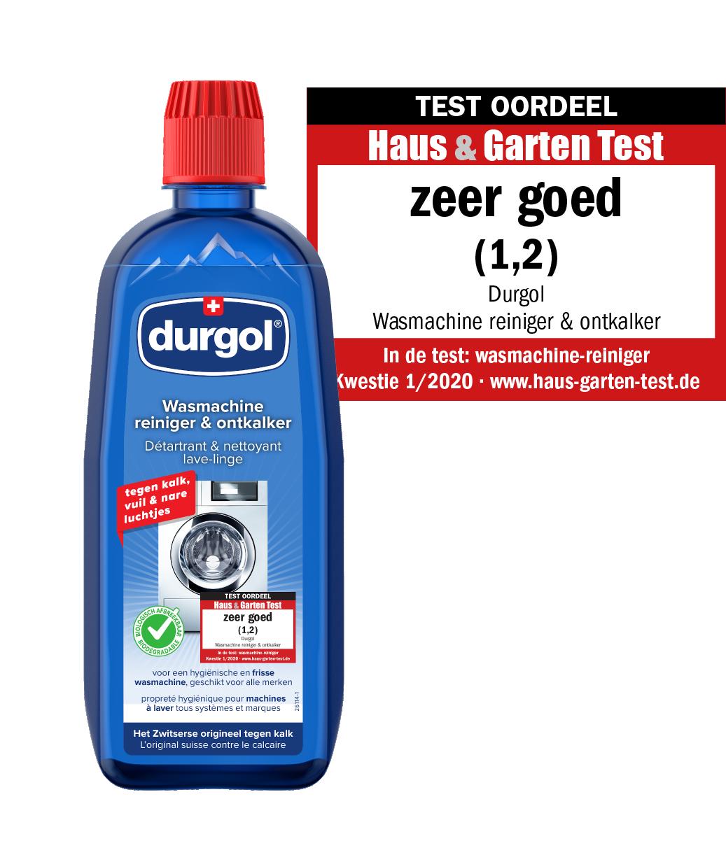 durgol wasmachine reiniger inclusief keurmerk