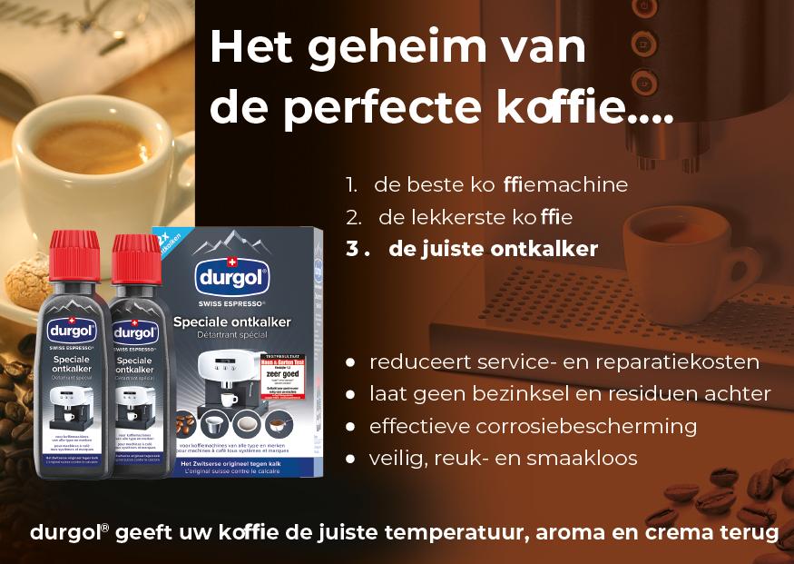 De durgol flyer: Het geheim van de perfecte koffie...