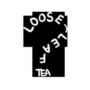 question mark made of loose-leaf tea