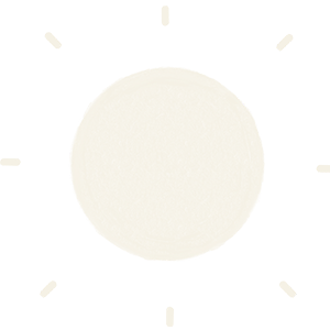 icon of sun with rays of lights