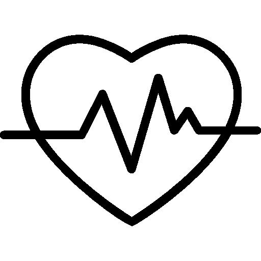 heart icon in black