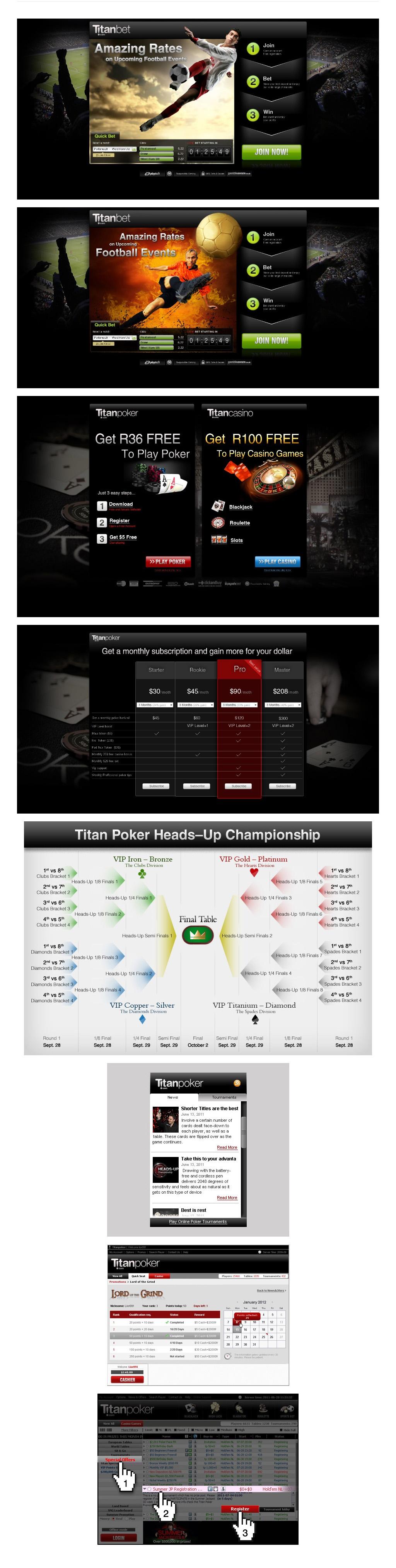 Titan Assorted design works for Titan.com