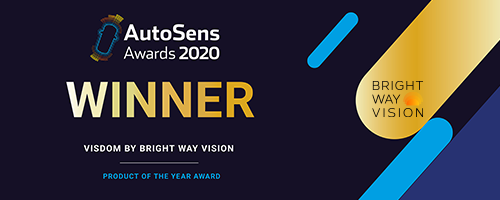 Bright Way Vision's VISDOM Wins AutoSens Product of the Year
