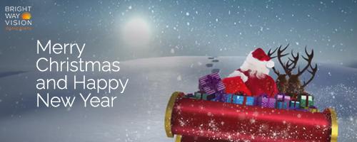 Bright Way Vision's VISDOM Makes Sure Santa Gets Everywhere Safely