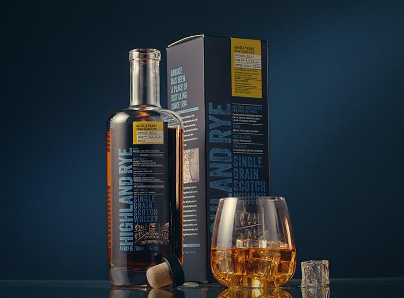 Arbikie Distillery Highland Rye