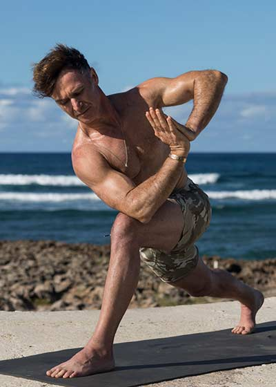 Eoin Finn beginner online yoga course on Wanderlust TV