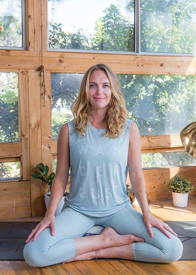 Mary Beth Larue yoga course on Wanderlust TV