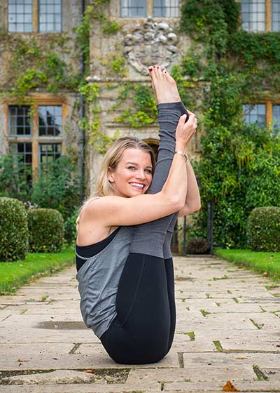 Julie Montagu on demand and live yoga classes on Wanderlust TV