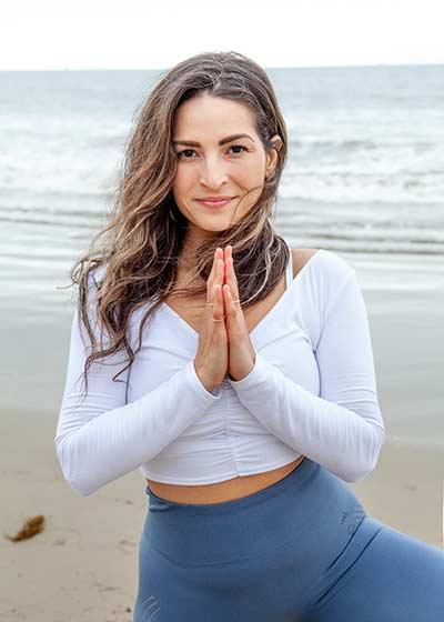 Rosie Acosta yoga classes on Wanderlust TV