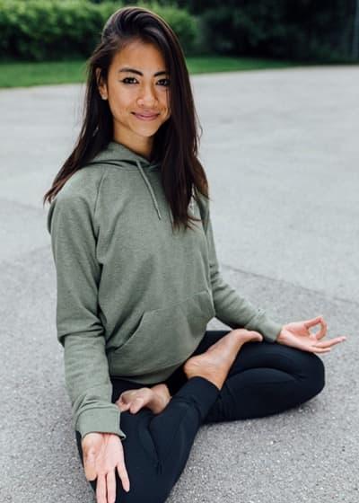 Ly Senger yoga classes on WLTV