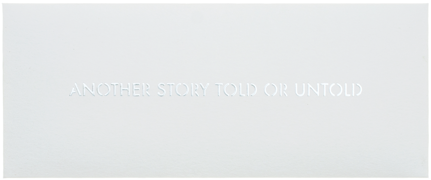 Simon Bultynck Another Story Told or Untold 2019