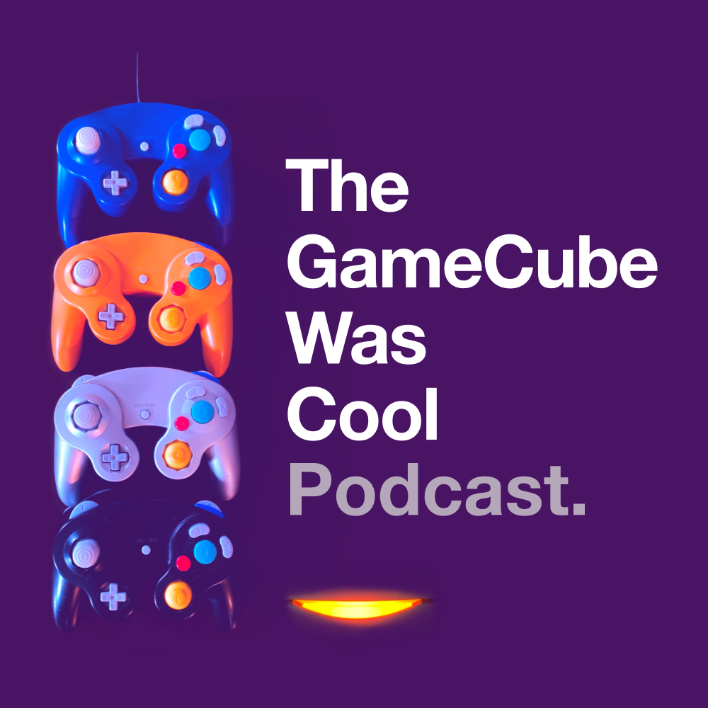 the gamecube was cool podcast logo