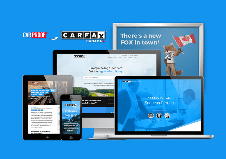 CARFAX Canada Rebrand
