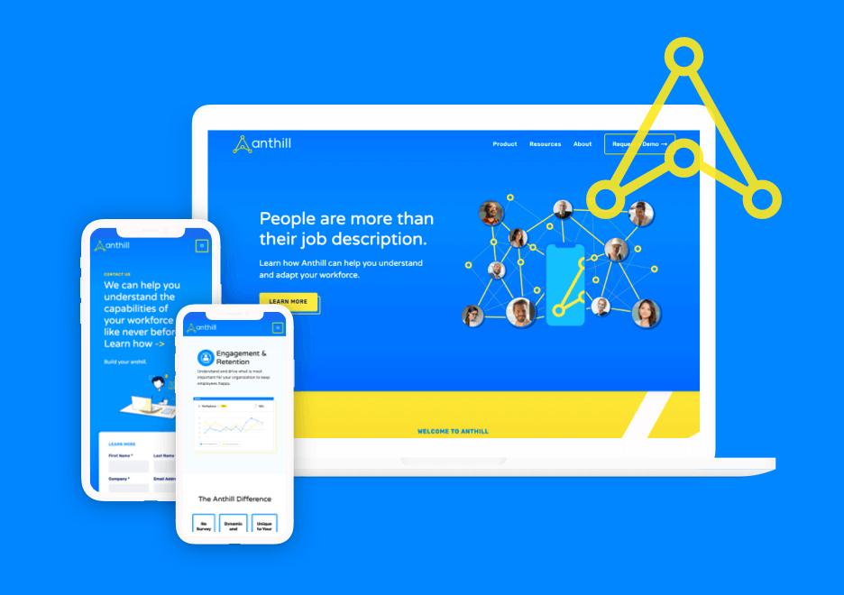 Anthill Ai Website & Brand Refresh