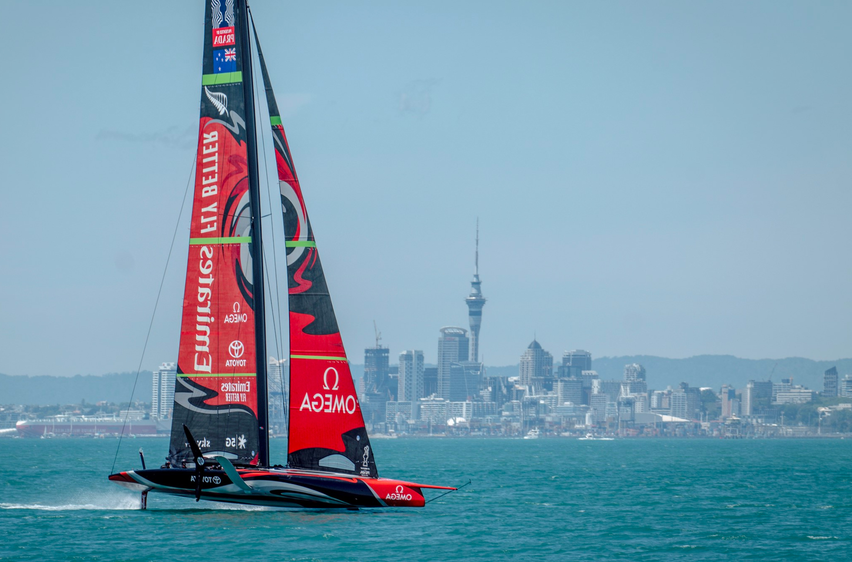 The America's Cup is here