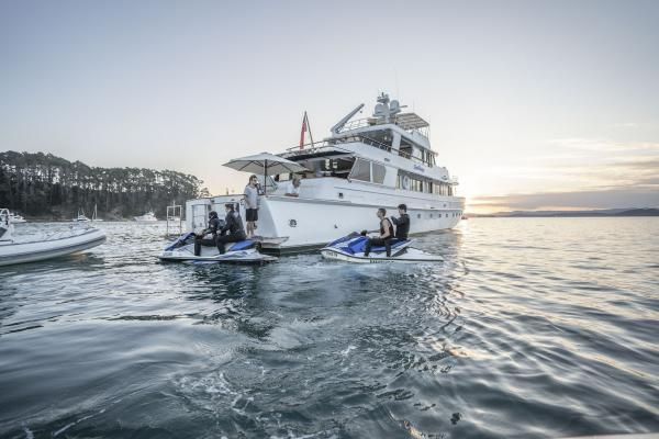luxury yacht charter water sports auckland new zealand superyacht4
