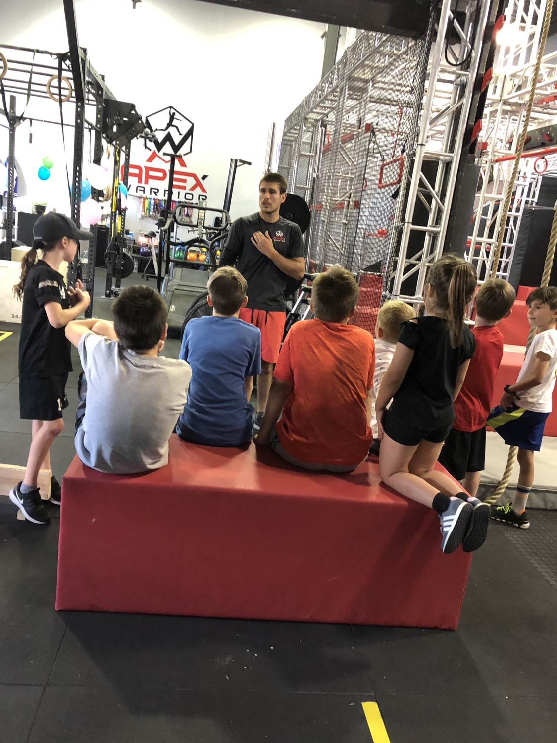 Kids in the gym