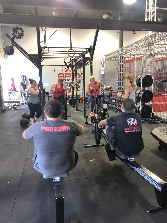 Cardio class at Apex