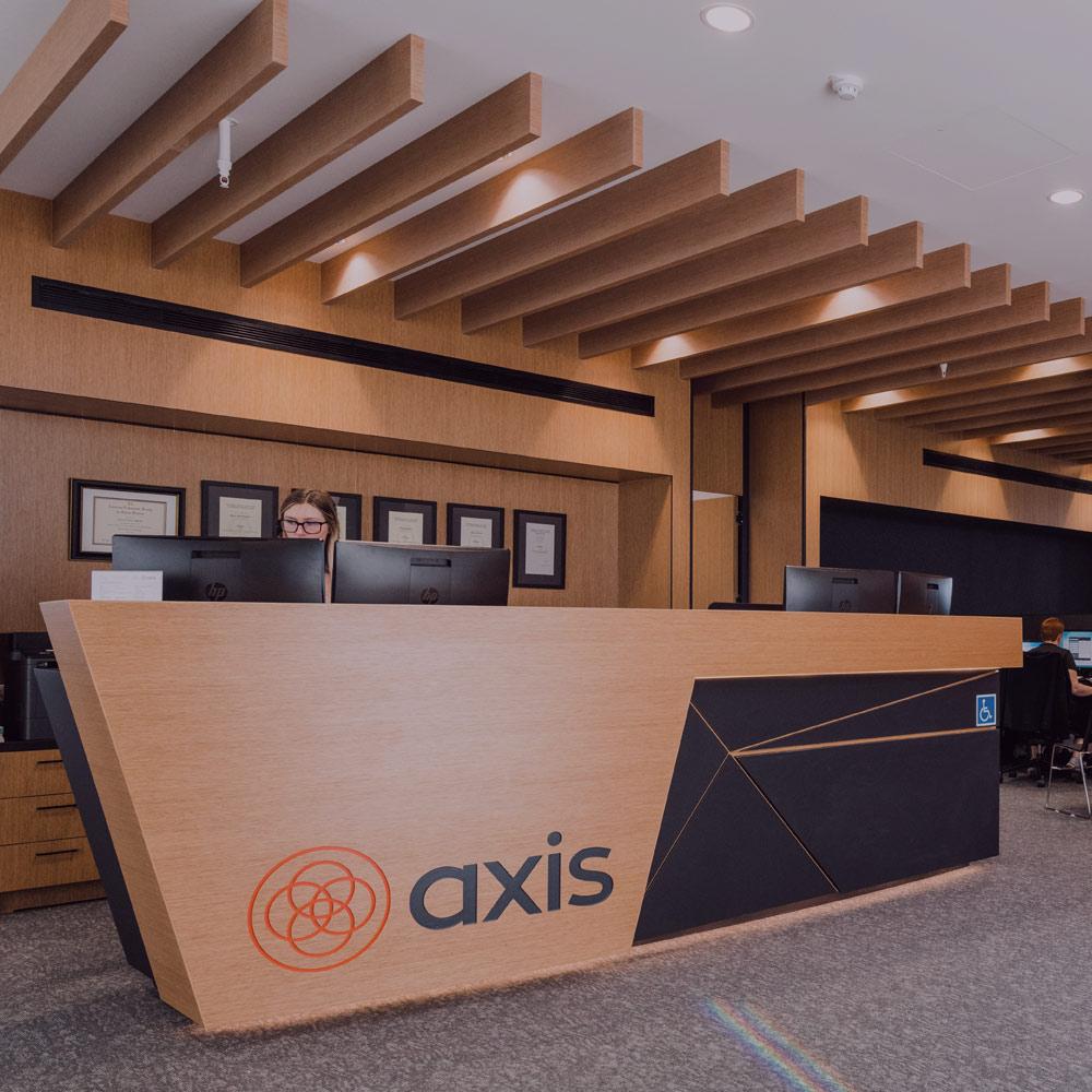 Axis Sports Medicine North Shore Reception