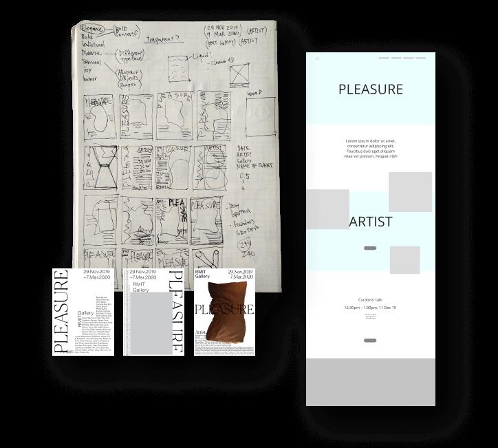 Pleasure Exhibition Sketch