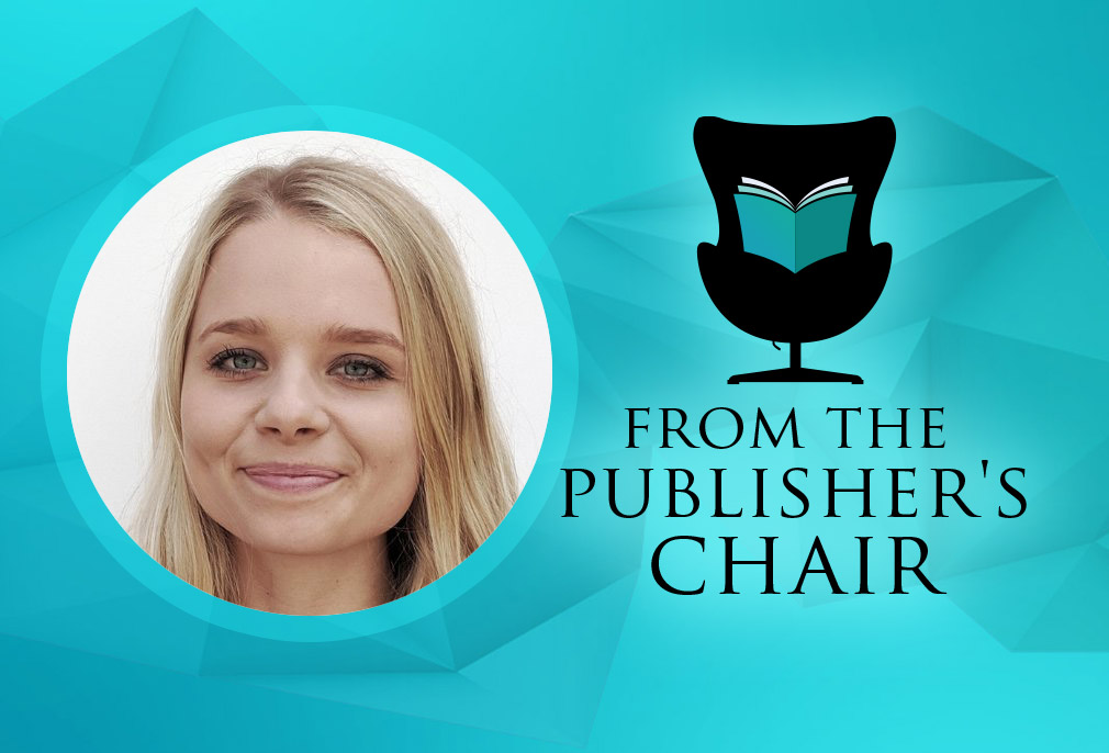 Sofie Samuelsson in the Publisher's Chair