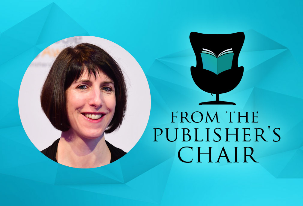Michele Cobb in the Publisher's Chair