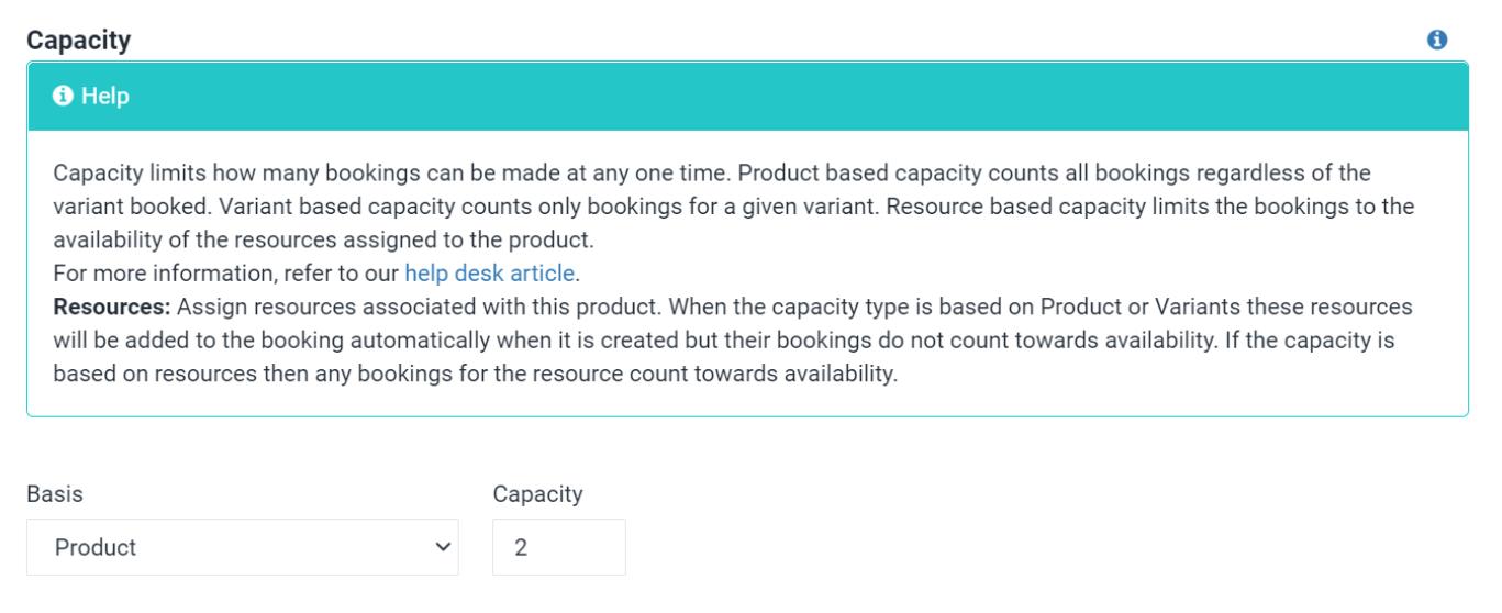 商品登録Capacity説明