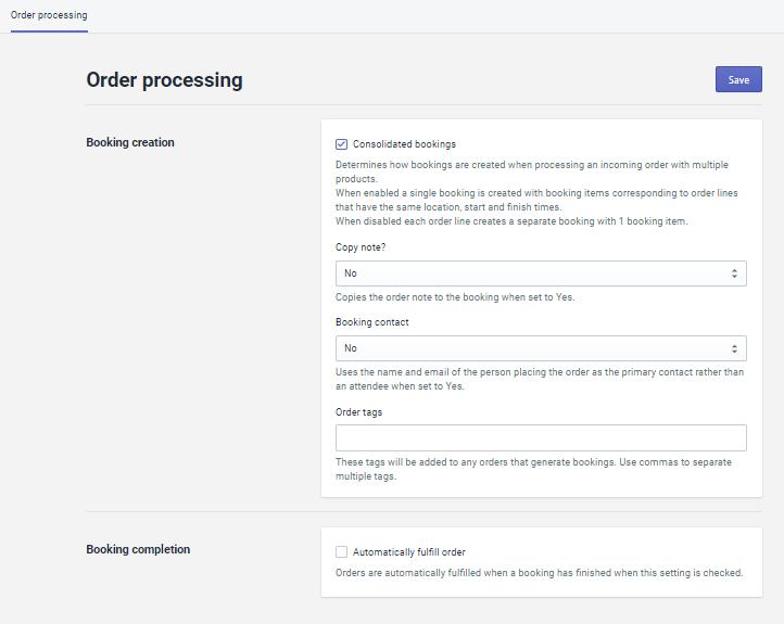 Order processing画像